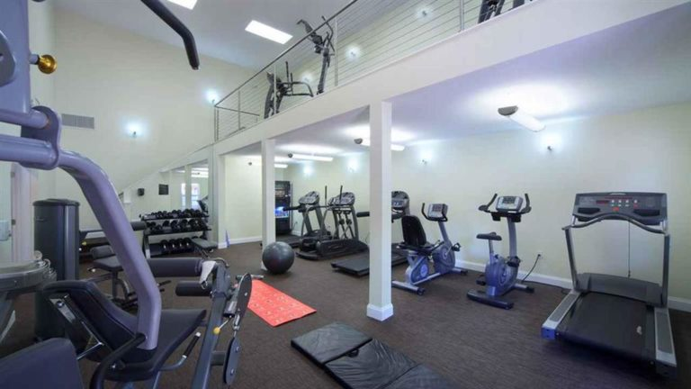 Fitness Center Area
